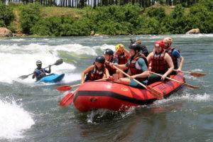 white water rafting jinja