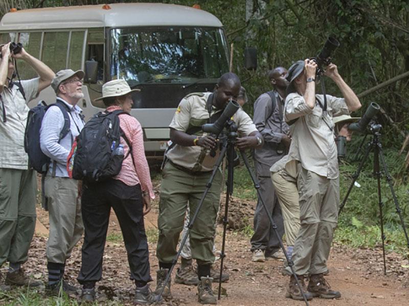 uganda tour guides at woork